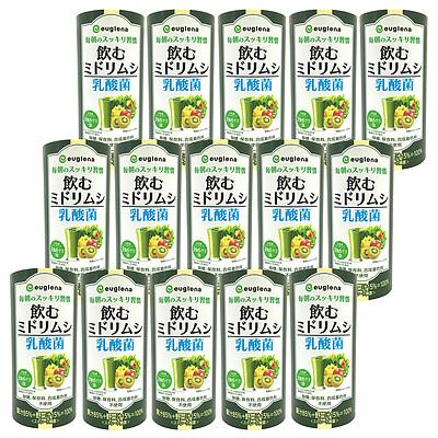 ユーグレナ 飲むミドリムシ乳酸菌 195g×15本