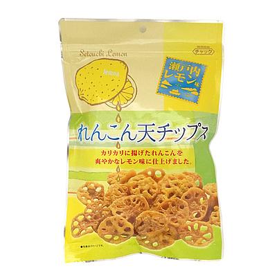 ダイコー食品 瀬戸内レモン味れんこん天チップス 60g