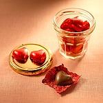 成城石井 ハート型ミルクチョコ 巾着 120g (約14個)