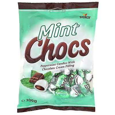 ストーク ミントチョコキャンディ 200g   チョコミント