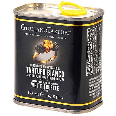 ジュリアーノ・タルトゥーフィ ホワイトトリュフオイル缶 161g