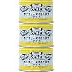 TOMINAGA さばオリーブオイル漬ガーリック缶詰 150g×3個