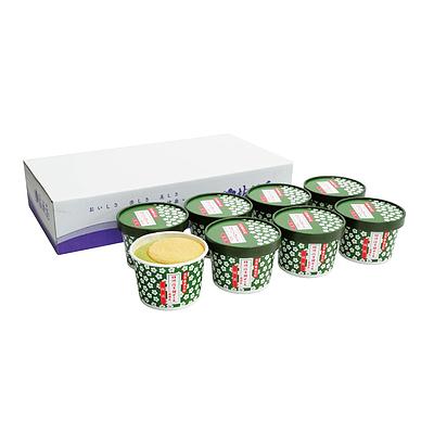 【お取り寄せ】 桔梗屋 桔梗信玄餅アイス抹茶 8個 【W】 | 沖縄・離島不可