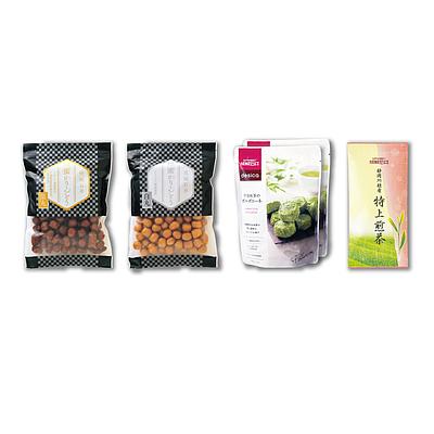 【2019年お中元】 成城石井 和菓子とお茶セット 【E】
