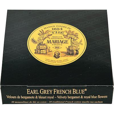 マリアージュフレール アールグレイフレンチブルー ティーバッグ 2.5g×30p