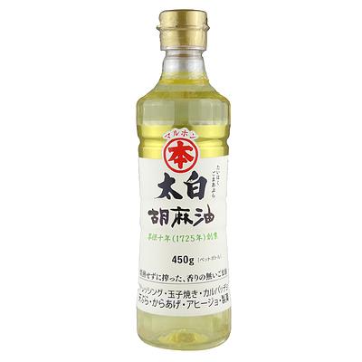 竹本油脂 マルホン 太白胡麻油 ペット 450g