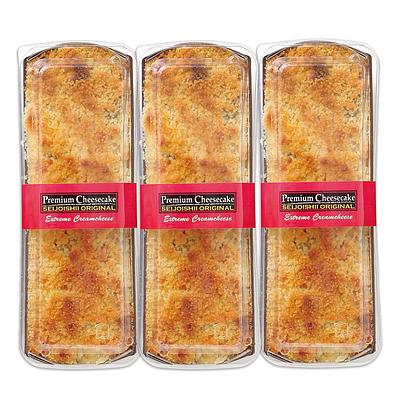 【お取り寄せ】 成城石井自家製 プレミアムチーズケーキ3本セット 【G】