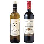 【お取り寄せ】 成城石井の看板ワイン!CH ラ ヴェリエール紅白セット 750ml×2本 【E】