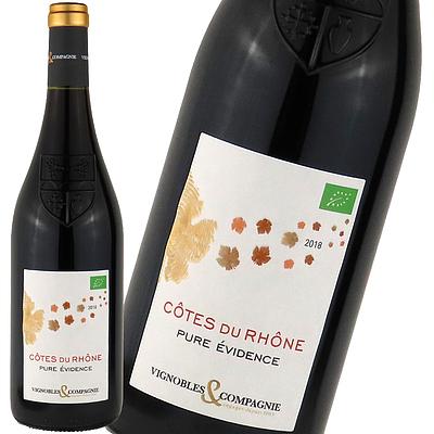 フランス ローヌ コートデュローヌ ルージュ 750ml | オーガニックワイン