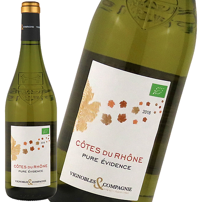 フランス ローヌ コートデュローヌ ブラン 750ml | オーガニックワイン