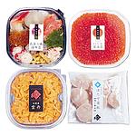 【お歳暮】 北海道 豪華海鮮丼セット「輝」 【W】