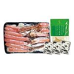 【お歳暮】 北海道 贅沢カニしゃぶセット「蟹の湯」 【W】