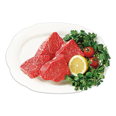 【お歳暮】 国産黒毛和牛ランプステーキ 150g×4枚 【G】   着日指定必須