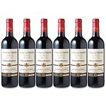 【お歳暮】 人気赤ワイン CH ラ ヴェリエール 6本セット 750ml×6本 【G】
