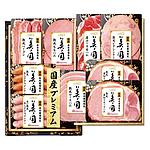 【お歳暮】 日本ハム 国産プレミアム 美ノ国 B UKI-58 【W】 | 沖縄離島不可/お届けは11月17日~12月24日まで