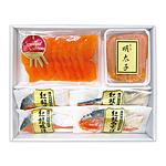 【お中元】 三洋食品 鮭グルメセット SMT-501 【W】 | 沖縄・離島お届け不可/お届けは6月8日から8月5日まで