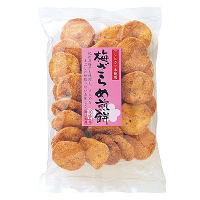 成城石井 梅ざらめ煎餅 155g