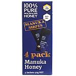 100%Pure Newzealand Honey マヌカハニー UMF10+ (個包装) 10g×4個入