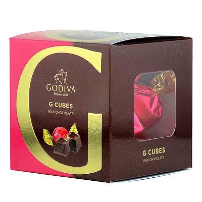ゴディバ (GODIVA) G キューブ ミルク 5粒入   GODIVA
