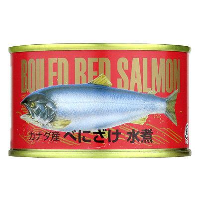 成城石井 カナダ産紅さけ水煮 200g