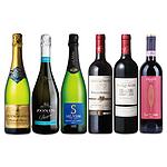 【お中元】 成城石井人気ベスト3赤&スパークリングワイン 6本セット 750ml×6本 WS-09 【E・G】