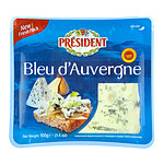 フランス プレジデント ブルー・ド・オーヴェルニュ AOP 100g