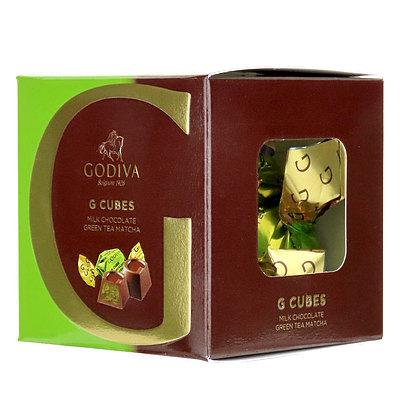 ゴディバ (GODIVA) G キューブ ミルク抹茶 5粒入 | GODIVA