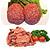 【送料込み!】【お取り寄せ】 国産黒毛和牛味付焼肉&国産牛ハンバーグセット 【G】