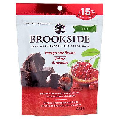 ブルックサイド ダークチョコレート ポメグライト(ザクロ) 235g