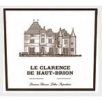フランス ボルドー ペサックレオニャン&グラーブ 2019 ル クラランス オー ブリオン 750ml | 2019年プリムールワイン