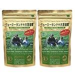 【送料込み!】【お取り寄せ】ソーキ乳酸菌入りニュージーランドの大麦若葉 徳用規格2袋セット シェーカー2個付き 【E】