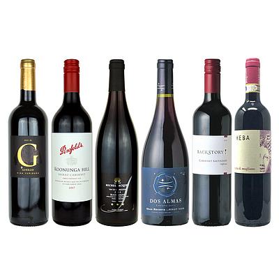 【送料込み!】【お取り寄せ】 世界のワイン産地飲み比べ!厳選ワイン6本セット 【DB】
