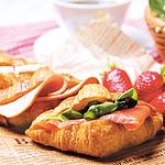 【お取り寄せ】 フランス産冷凍ミニクロワッサン(65個) 【G】