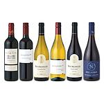 【お取り寄せ】 フランスVSニューワールド 新旧ワイン産地飲み比べセット 750ml×6本 【DB】 [ 4953762702346 ]