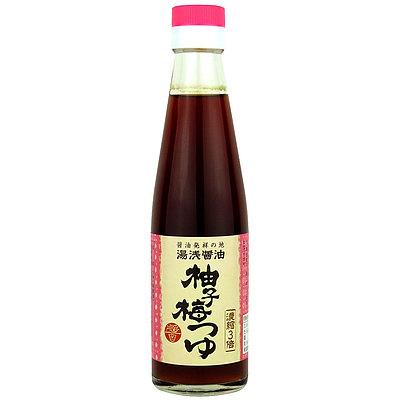 湯浅醤油 柚子梅つゆ 200ml