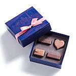 【2021 Valentine's Day】ラ・メゾン・デュ・ショコラ パリ ア ルール ブルー 4粒入