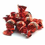 デルコンテ ミルクプラリネチョコレート 【赤】 バルク詰め 9kg