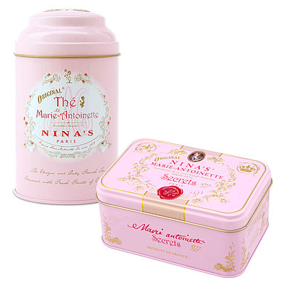 【送料込み】 NINA'S マリーアントワネットティー&チョコレートセット | 予約販売