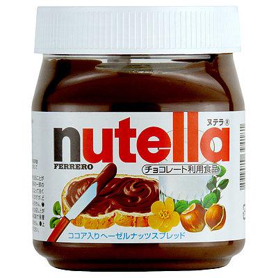フェレロ・ヌテラ ヘーゼルナッツ&チョコレートスプレッド 350g