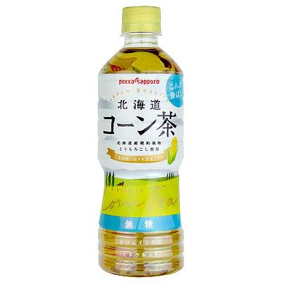 【送料込み】 ポッカサッポロ 北海道コーン茶 525ml×24本