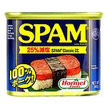 ホーメル スパム25%レスソルト 缶 340g