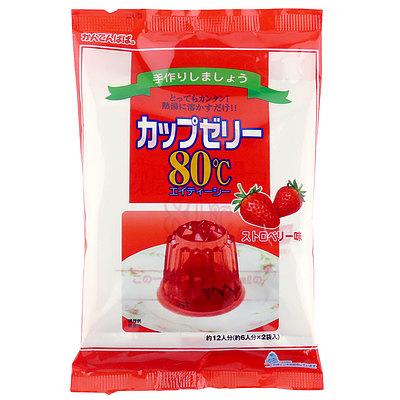 かんてんぱぱ カップゼリー ストロベリー (100g×2袋)×5個