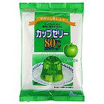 かんてんぱぱ カップゼリー 青リンゴ (100g×2袋)×5個