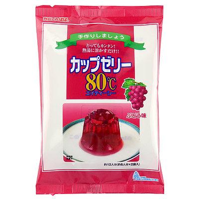 かんてんぱぱ カップゼリー ぶどう (100g×2袋)×5個