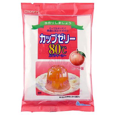 かんてんぱぱ カップゼリー ピーチ (100g×2袋)×5個