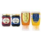 【お取り寄せ】【E】 成城石井 蜂蜜とフルーツスプレッドセット 4個入
