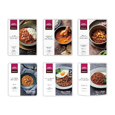 【お取り寄せ】【E】 成城石井desica レトルト食べ比べセット A 6種6個セット [4953762419213]