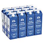【お取り寄せ】【EK】 成城石井 アイスコーヒー微糖12本セット 1000ml×12本