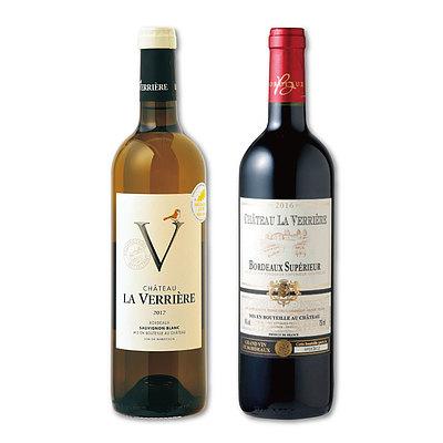【お取り寄せ】【E】 成城石井の看板ワイン!CHラ・ヴェリエール紅白ワインセット 750ml×2本 [4953762701332]