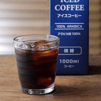 成城石井 アイスコーヒー 【微糖】 1000ml 【紙パック】※1本